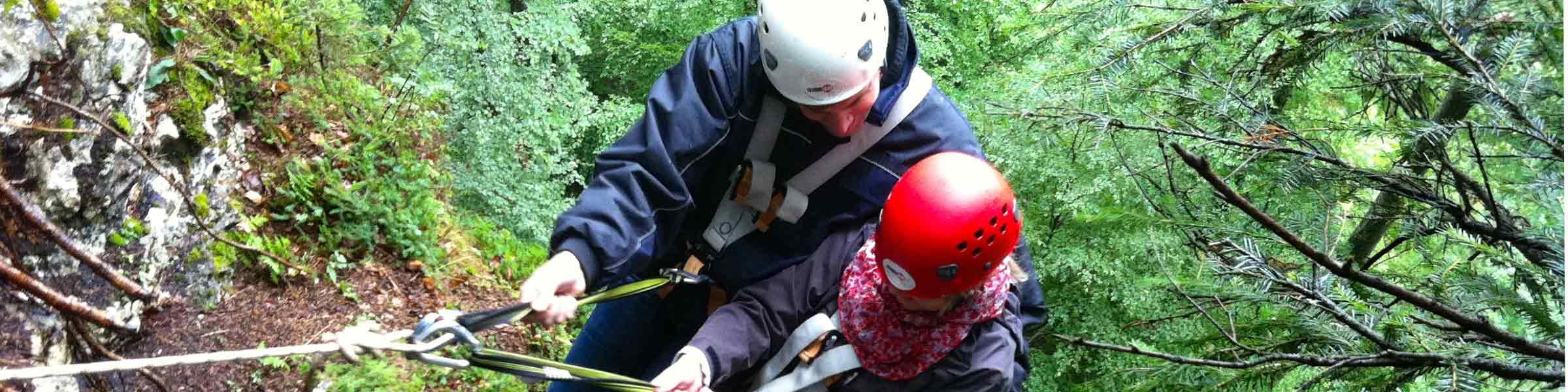 Klettergarten Oberaudorf: Gruppenerlebnis für Vereine