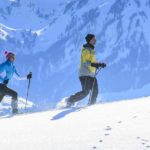 Schneeschuhwanderung im Team für Firmen - Outdoor Winter-Events und Teambuilding im Winter